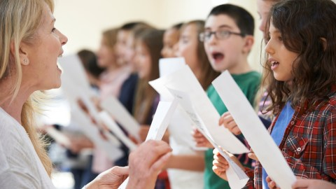 Kids sing while learning -- getting all their senses involved is a top strategy to help ADHD students.