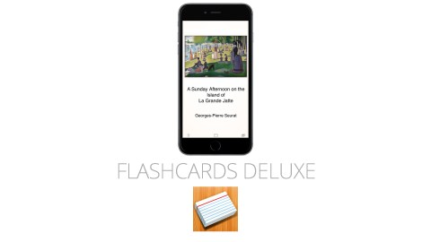 Flashcards Deluxe is a great app for students with ADHD
