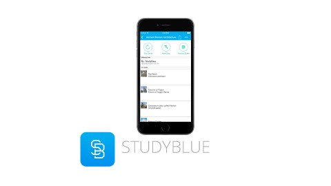 StudyBlue is a great app for students with ADHD