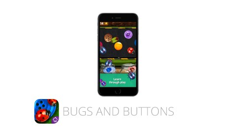 Bugs and Buttons is a great app for kids with ADHD