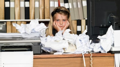 """Many children with ADHD have difficulty with paper flow, meaning they have trouble keeping track of the assignments coming in and out. Let's call this child """"Disorganized Danny."""" Dealing with amessy binder can be frustrating for parent and child alike — particularly when the homework is completed and then lost before being turned in!"""
