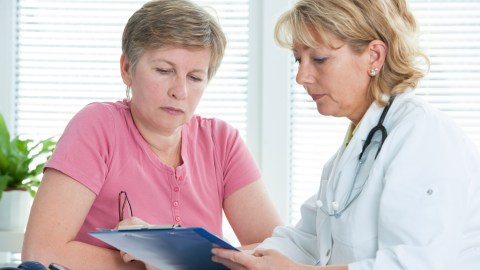 A woman being diagnosed with adhd, which is often accompained by comorbid conditions and sometimes is misdiagnosed.