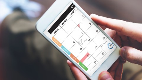 Phone planner. Bad phone conversation. How do you know you have ADHD? You need your planner.