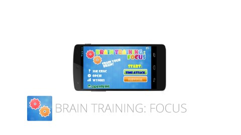 Brain Training: Focus is a great app for people with ADHD