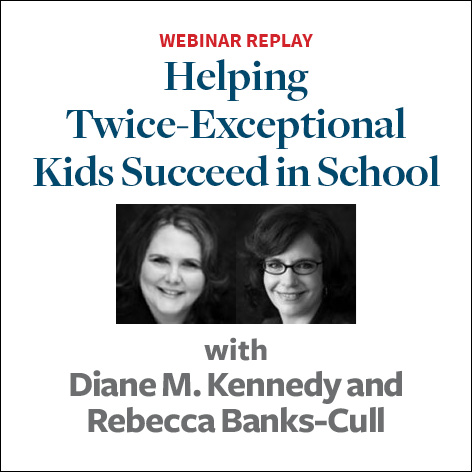 Helping twice exceptional kids succeed