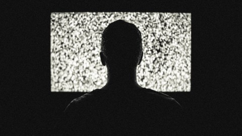 Limit television viewing to cut out white noise when trying to sleep with ADHD