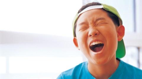 A child cries