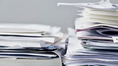 Piles of paper create clutter in your mind and your life.