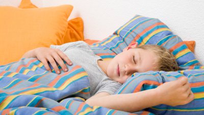 Boy with ADHD finds a solution on how to sleep better.