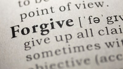 Wondering what to do when you make a mistake? Start with this definition of how to forgive.