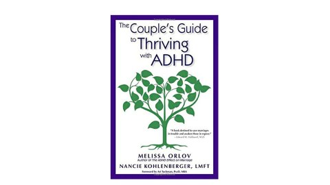 This book will help couples that have ADHD.