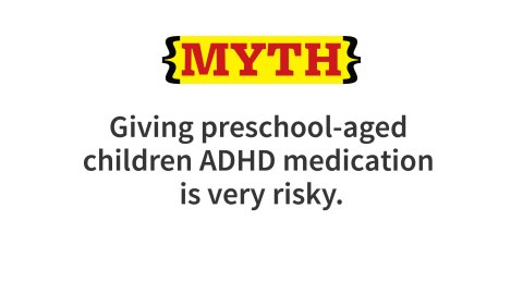 Research has shown that a majority of children aged 3 to 5 1/2 years with moderate to severe ADHD had significant improvement in symptoms when treated with stimulants. Side effects are slightly more common than is usually seen in older children, but still minimal. In 2012, the AAP recommended that children aged four to five with significant ADHD impairments should be treated with behavior therapy. If not effective after nine months, stimulant medication is recommended.