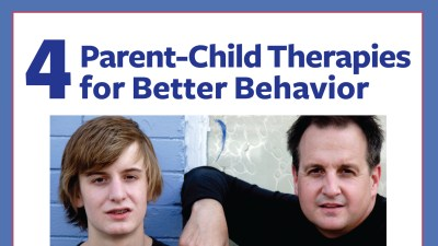 Parent-child therapies for better behavior