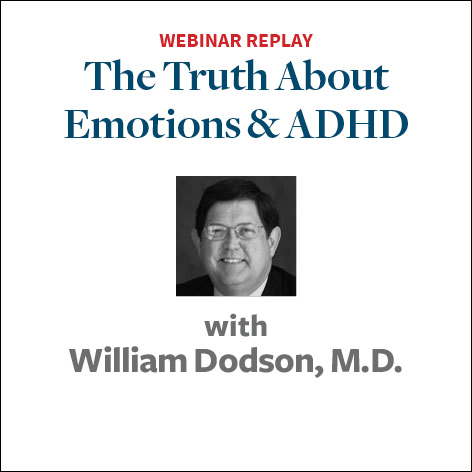 the truth about emotions and adhd