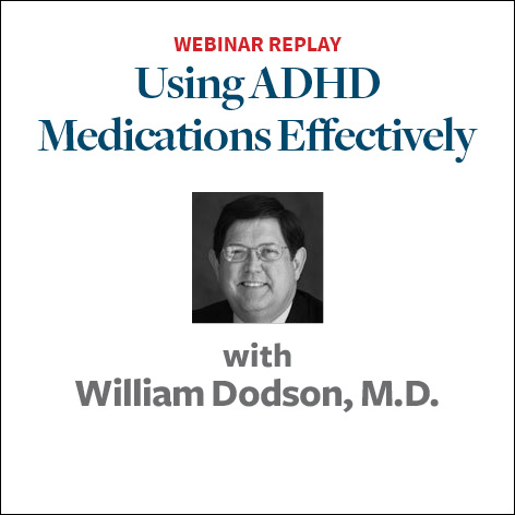 using adhd medications effectively