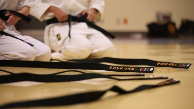 Karate is one of several activities for kids with ADHD that can build creativity outside of school.