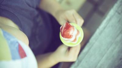 boy with adhd ice cream meltdown summer