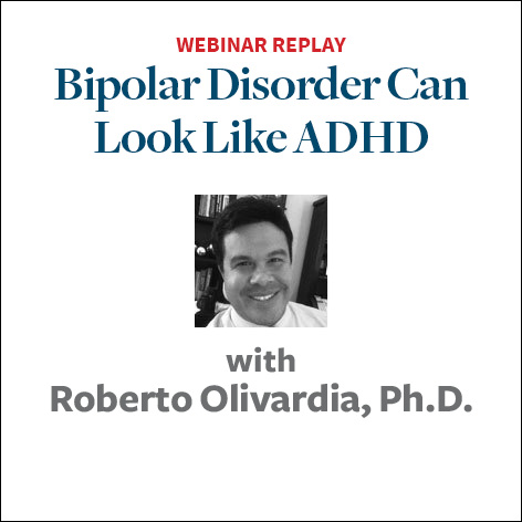 bipolar disorder looks a lot like adhd