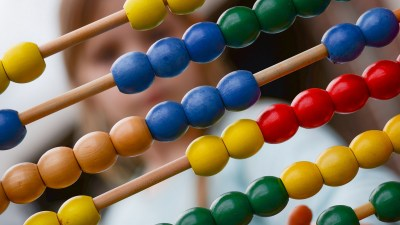 Using an abacus is one of many ADHD teaching strategies.