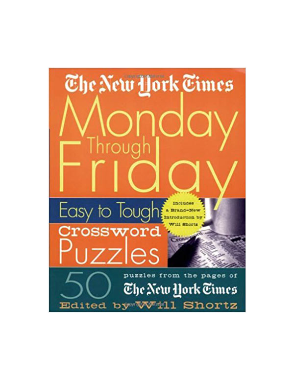crossword puzzle book