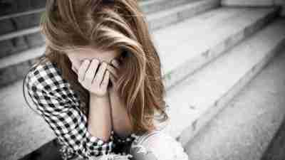 Female teen is depressed and has ADHD because of her abusive background