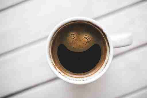 Cup of coffee has caffeine and ADHD people use it as a stimulant that can help people focus