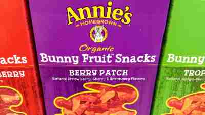 Annie's organic fruit snacks, a fun healthy snack for kids