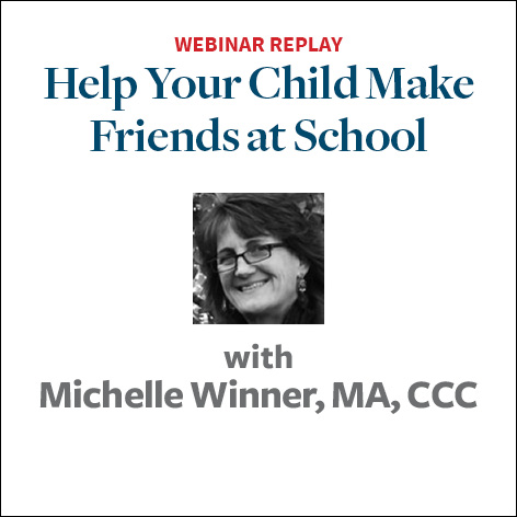 Help Your Child Make Friends at School