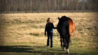 ADHD girl finds solace in horseback riding