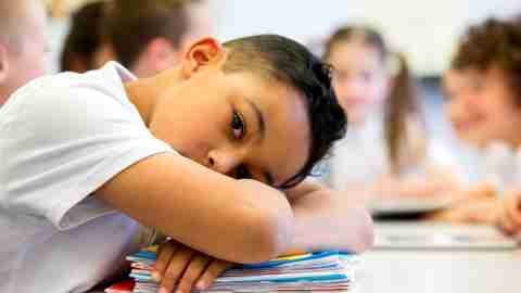 Kids with ADHD often struggle in school due to poor executive functions.