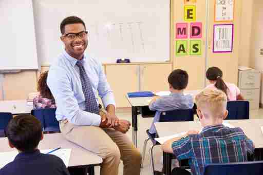 Becoming a school teacher is a good career choice for many adults with ADHD who are energetic, creative, and dynamic.