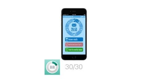 30/30 is a great app for students with ADHD