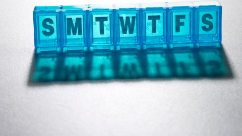 Pill box for ADHD medication