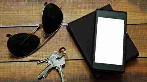 A launchpad of essentials such as glasses and keys can simplify your life by avoiding forgetfulness.