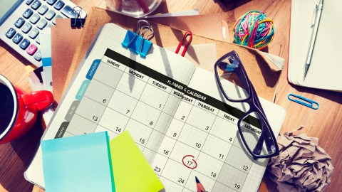 CBT helps with both cognitions and behavior, including organizing your calendar, desk, and life.