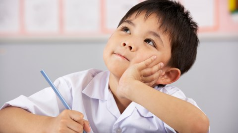A student in his seat and given a specific set of directions is a student with improved classroom behavior.