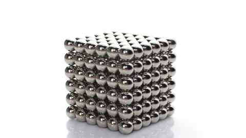 Bucky balls, a product that can solve the ADHD problem of restless hands
