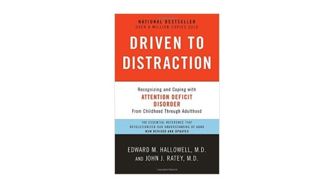 Driven to Distraction is a great book for people who have been recently diagnosed with ADHD