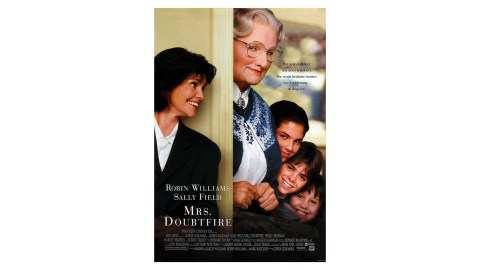 Daniel Hillard from the movie Mrs. Doubtfire is a character with ADHD