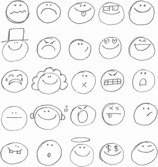 A depiction of the many intense emotions of ADHD.