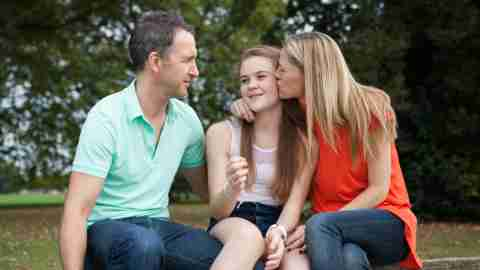 Parents love their daughter, despite feeling like she doesn't listen when spoke to.