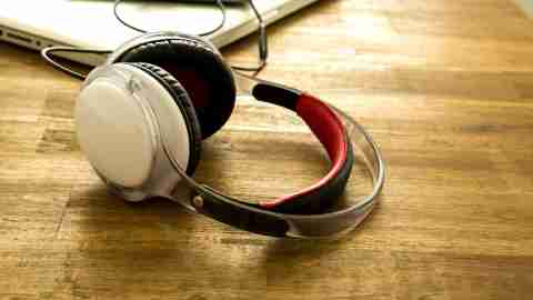 Noise cancelling headphones a person with ADHD uses to concentrate instead of telling her boss she has ADD.