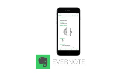 Evernote is one of the best time management apps.