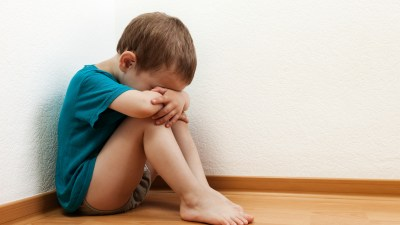 A boy with ADHD is having a tantrum. Positive parenting can help.