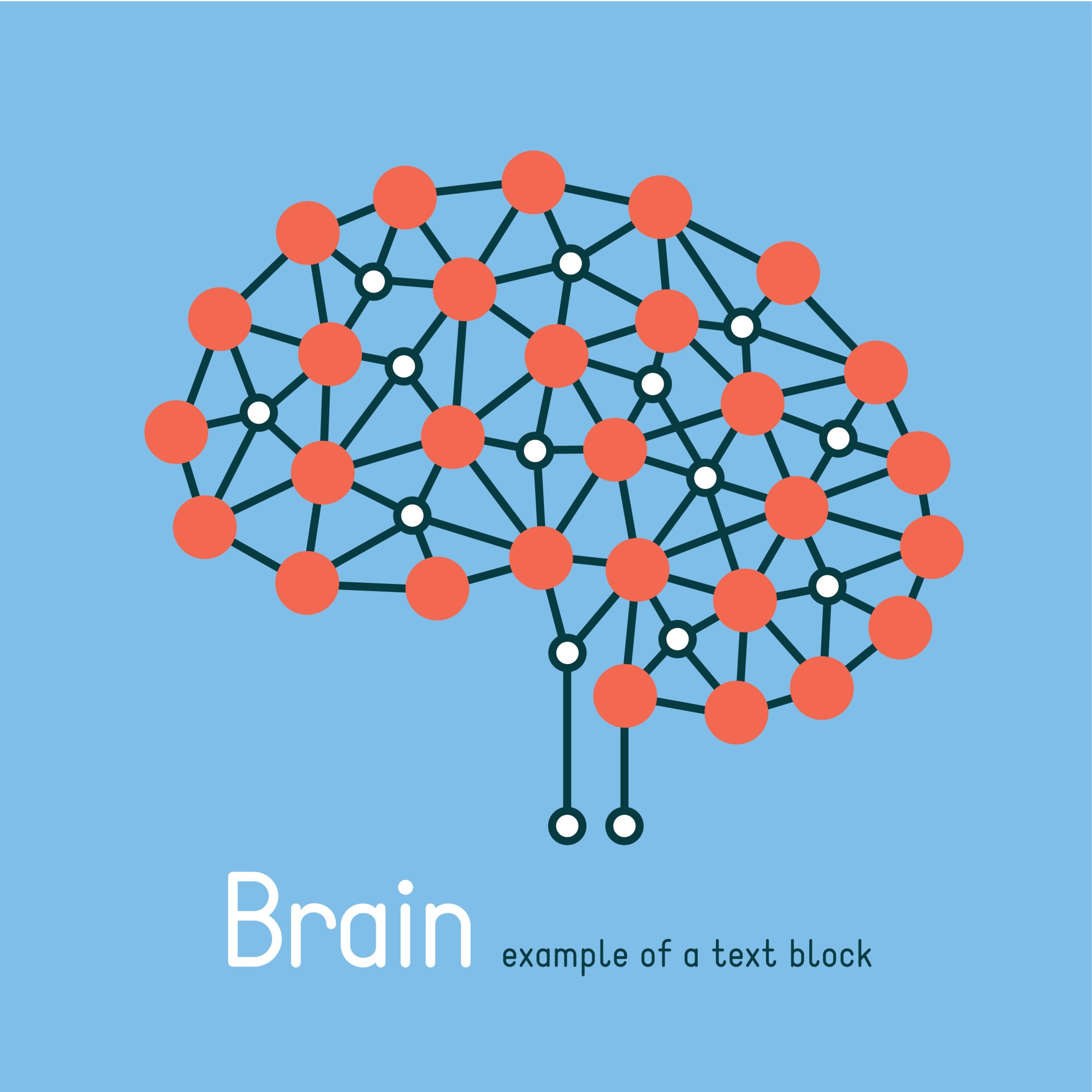 hight resolution of a depiction of the brain and the many apps that can help it grow like