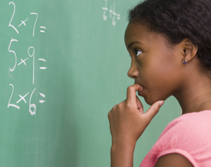 Dyscalculia isa broad term for many different types of disorders where someone has problems with math.