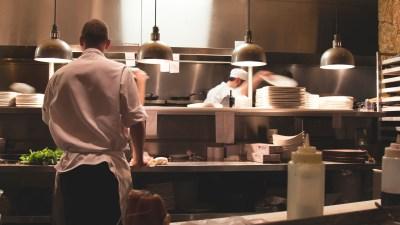 Bruno Taylor: Restaurant Kitchen, Cook & Waiter