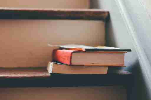 IEP 504 Plan: Books On Staircase