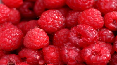 Close up of raspberries, a good food for people with ADHD using supplements, vitamins and diet to treat symptoms