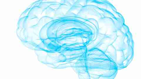 An illustration of a brain experiencing ADHD stress
